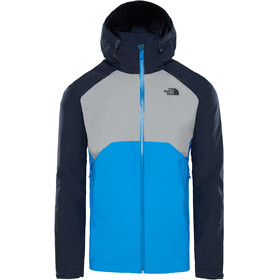 The North Face Stratos Jacket Men bomber blue/mid grey/urban navy